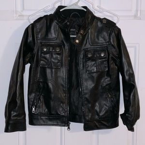 Urban Republic boys size 8 faux leather jacket